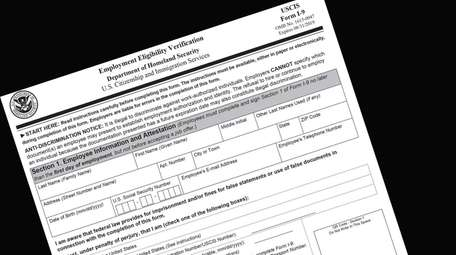 Form I-9 is used to verify employees' identity