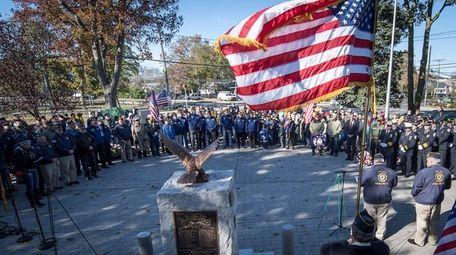 American Legion Greenlawn Post 1244 observes Veterans Day