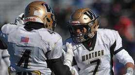 Jason Corso #7, right, and Jake Castellano #4