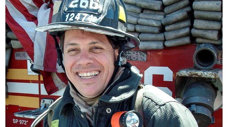 Robert Tilearcio, a FDNY firefighter from Massapequa Park,