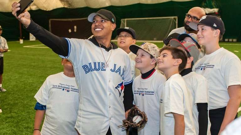 Toronto Blue Jays pitcher Marcus Stroman, of Medford,
