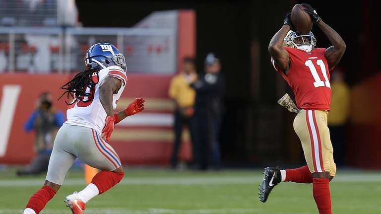 San Francisco 49ers wide receiver Marquise Goodwin (11)