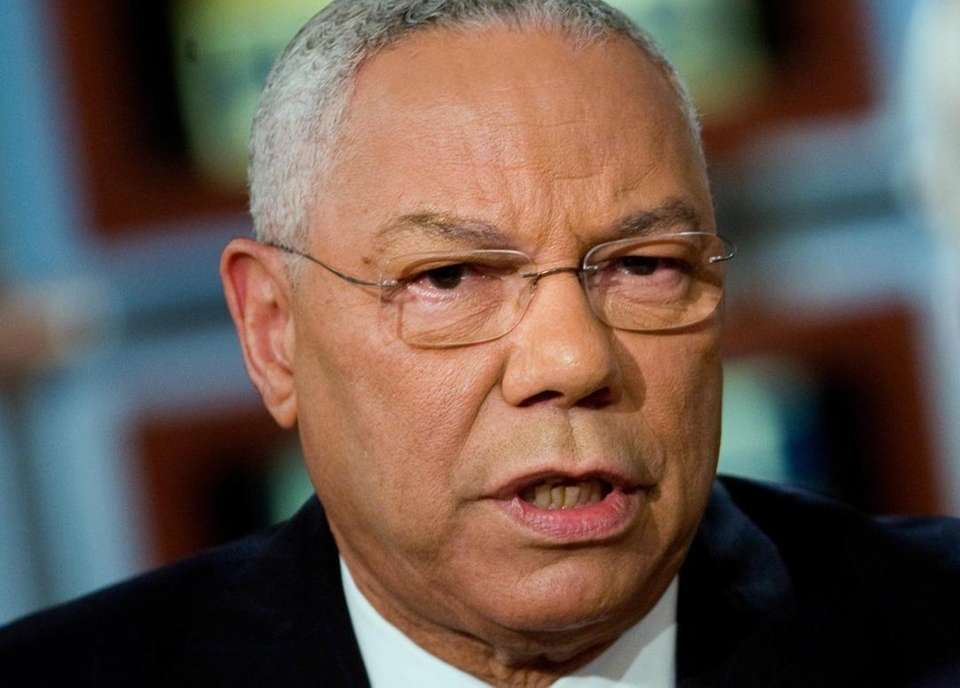 General Colin L. Powell was diagnosed in the
