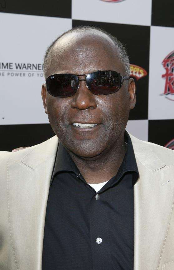 Actor Richard Roundtree, best known as the star