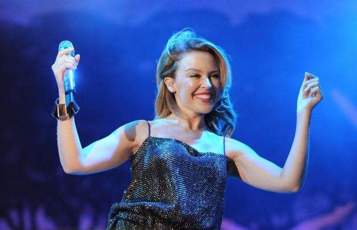 Pop singer Kylie Minogue announced in May 2005