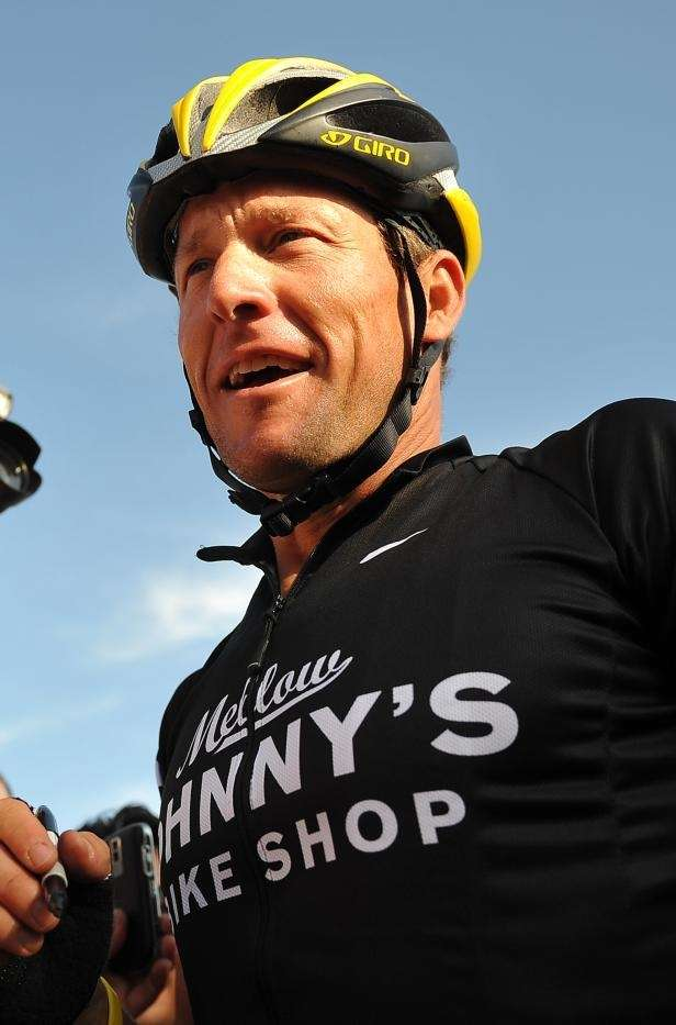 Lance Armstrong, former professional cyclist, was found to