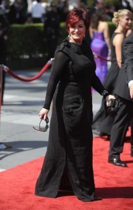 Sharon Osbourne, wife of the singer Ozzy Osbourne,