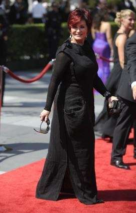 Sharon Osbourne, wife of the singer Ozzy Osbourne,