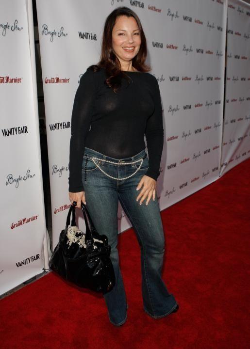 Actress Fran Drescher, best known as the star