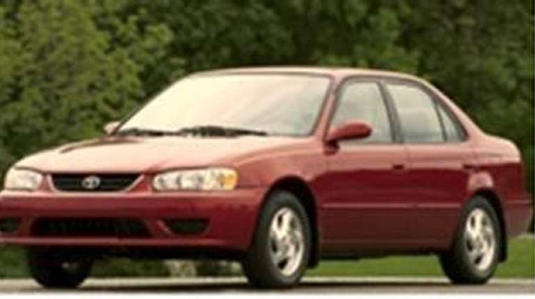 A Toyota Corolla like this one was the