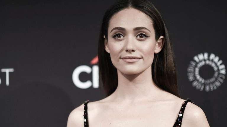Emmy Rossum, pictured on Sept. 6, 2017, connected
