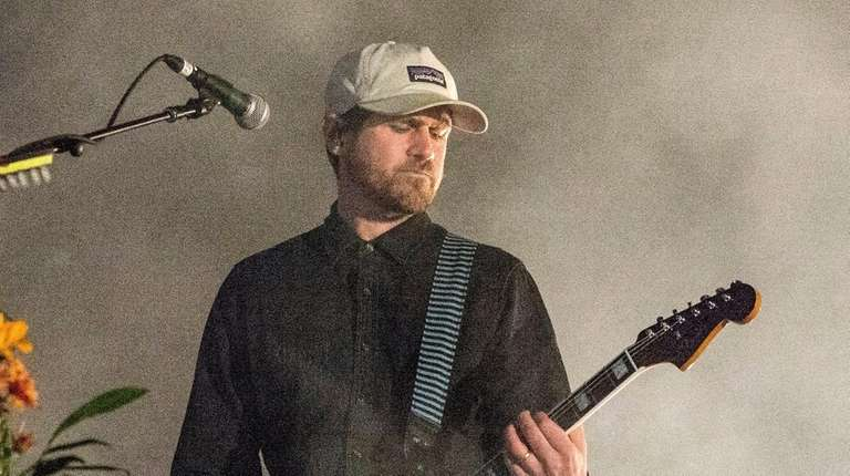Jesse Lacey of Brand New performs in City
