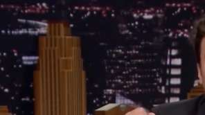 "Jimmy Fallon opened ""The Tonight Show"" on Monday,"