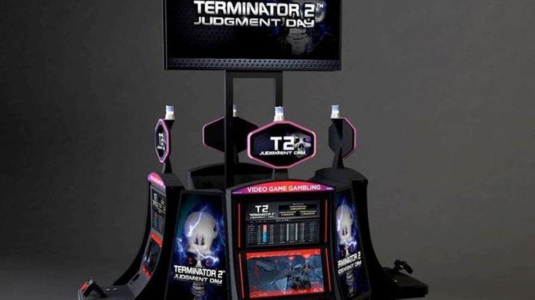 GameCo's Terminator 2 VGM terminal.