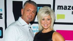 Theresa Caputo and her husband, Larry, in an
