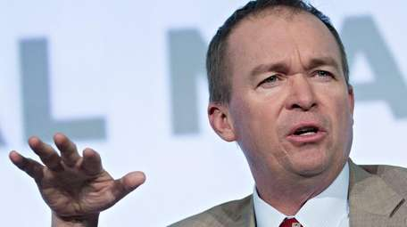 Mick Mulvaney, director of the Office of Management