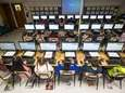 Third-graders at Charles E. Walters Elementary School in