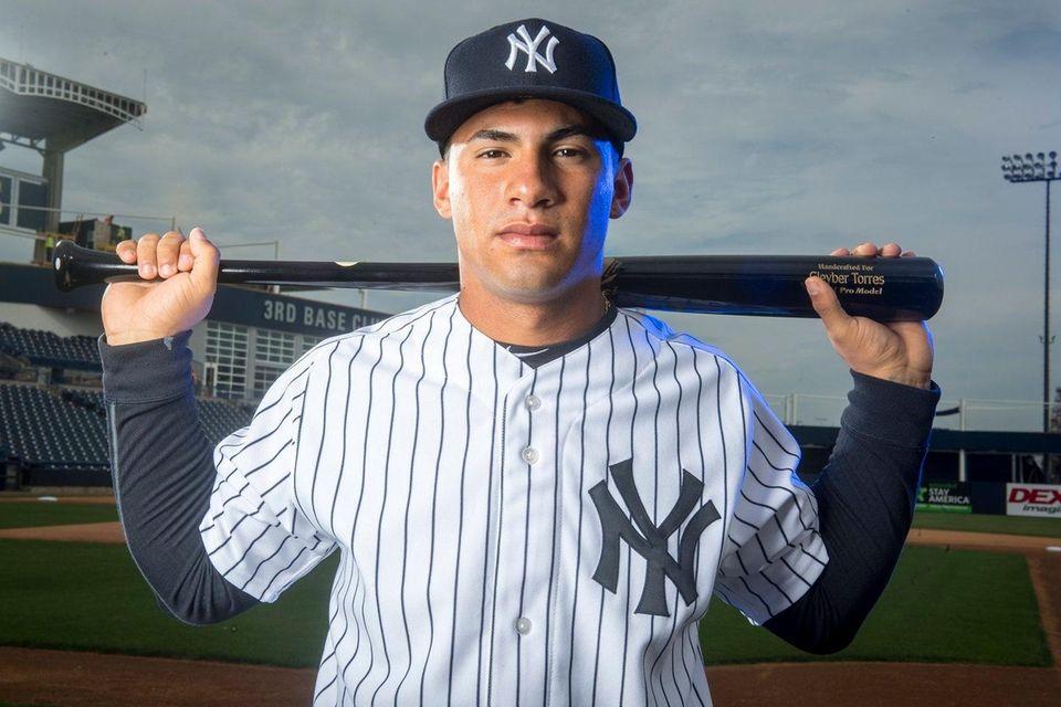 Yankees top prospect Gleyber Torres at spring training