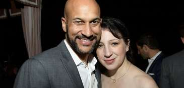 Keegan-Michael Key and fiancée Elisa Pugliese revealed their