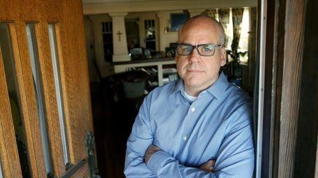David McGuire, shown at his home in Los