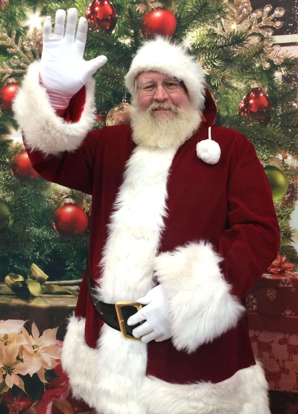 Santa will be at Hicks Nurseries (100 Jericho