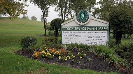 Brookhaven Town Hall in Brookhaven on Oct. 9,