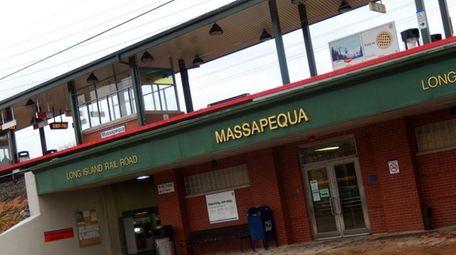 The Massapequa LIRR Station is pictured on Dec.