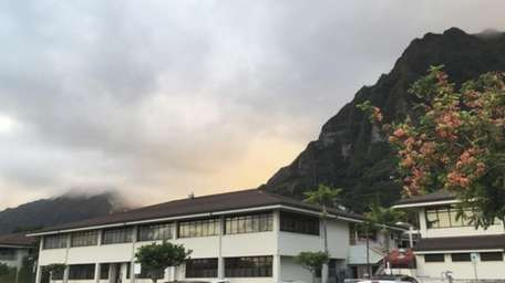 The Hawaii State Hospital is shown in Kaneohe,