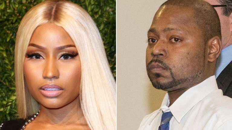 Rapper Nicki Minaj visits brother in Nassau jail