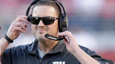 Coach Ben McAdoo challenged the 1-8 Giants to