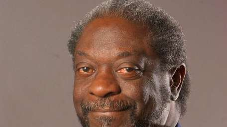 Portrait of Newsday's Les Payne on Nov. 4,