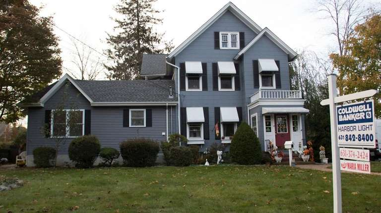 A home up for sale in Amityville. Throughout