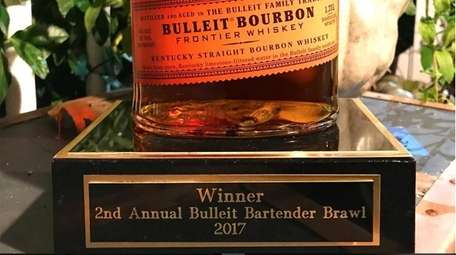 The prize for winning the 2nd Annual Bulleit