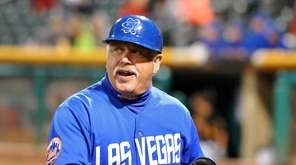 Las Vegas 51s manager Wally Backman during a