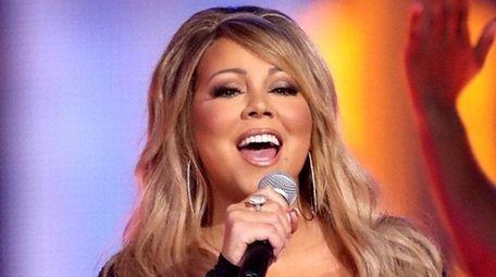 Mariah Carey performs at VH1's