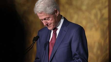 Former President Bill Clinton speaks at Georgetown