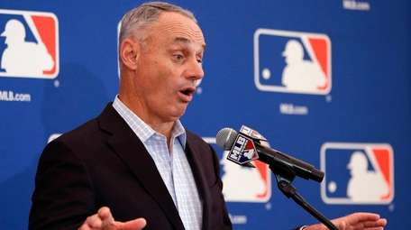 MLB commissioner Rob Manfred is hopeful that the