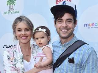Ali Fedotowsky, husband Kevin Manno and daughter Molly