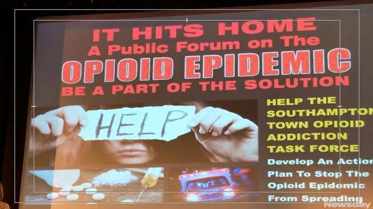 Residents suggested plans to combat addiction during the