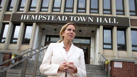 Incoming Democratic Hempstead Town Supervisor Laura Gillen
