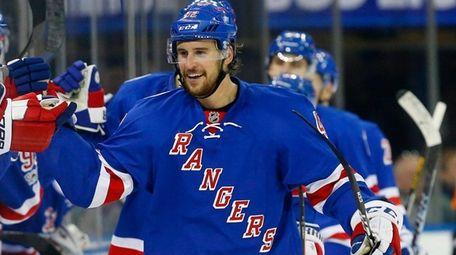 Rangers defenseman Brendan Smith is back in the