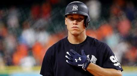 Rookie of the Year Aaron Judge of the
