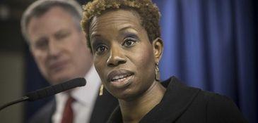 NYCHA chairwoman Shola Olatoye is being urged to