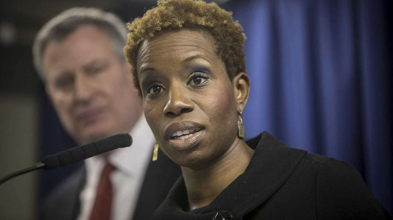 NYCHA chairwoman Shola Olatoye is being urged to