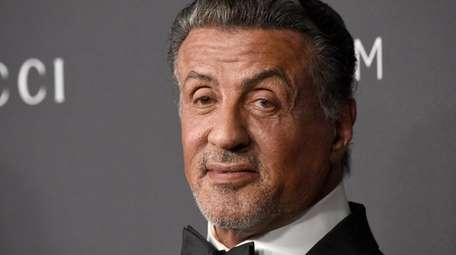 Actor Sylvester Stallone at the LACMA Art +