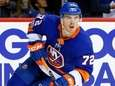 Anthony Beauvillier of the New York Islanders skates