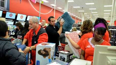 The holiday shopping season gets its traditional start