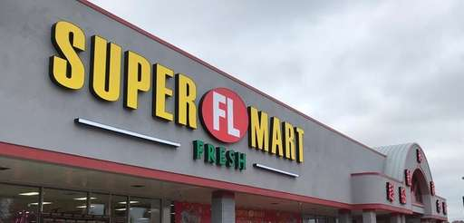 The newly opened Super FL Mart at 52