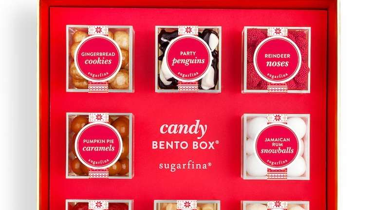 The Merry Christmas Candy Bento Box from Sugarfina
