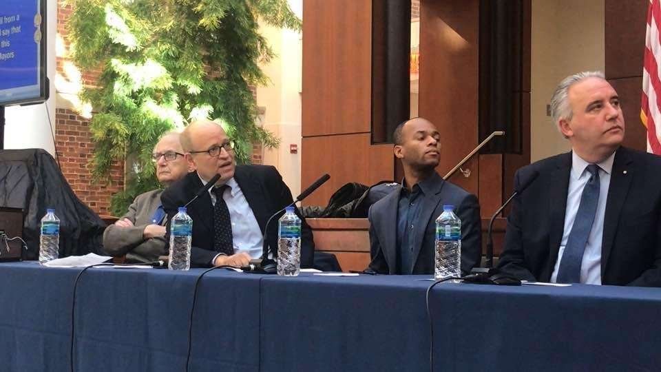 A mayoral panel considering the future of New